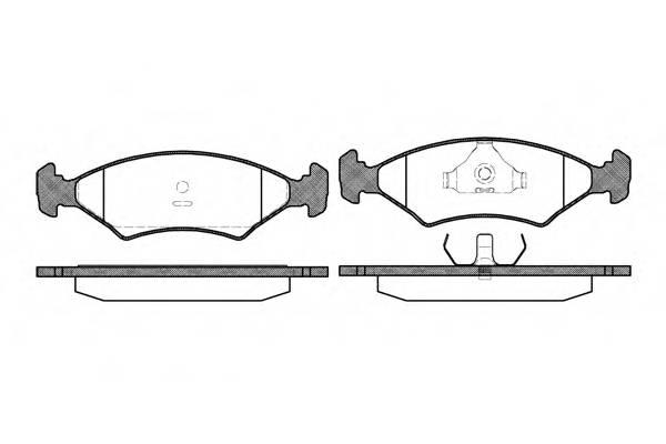 Тормозная система Гальмiвнi колодки, к-кт. PAGID арт. 211920