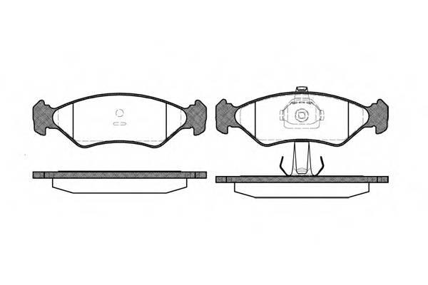 Тормозная система Гальмiвнi колодки, к-кт. PAGID арт. 228520