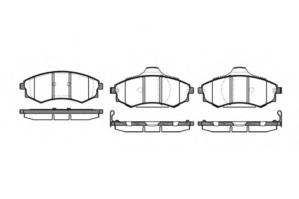 Тормозная система Гальмiвнi колодки, к-кт. PAGID арт. 231892