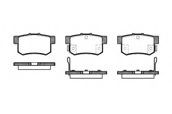 Тормозная система Гальмiвнi колодки, к-кт. PAGID арт. 232532