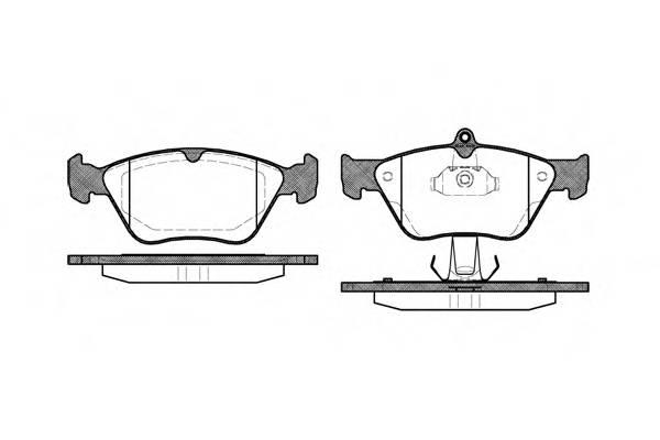Тормозная система Гальмiвнi колодки, к-кт. PAGID арт. 246800