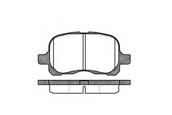 Тормозная система Гальмiвнi колодки, к-кт. PAGID арт. 265200