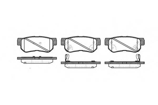Тормозная система Гальмiвнi колодки, к-кт. PAGID арт. 274632