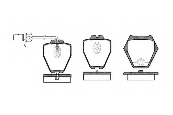 Тормозная система Гальмiвнi колодки, к-кт. PAGID арт. 275202