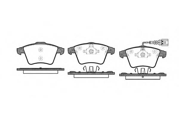 Тормозная система Гальмiвнi колодки, к-кт. PAGID арт. 2104501
