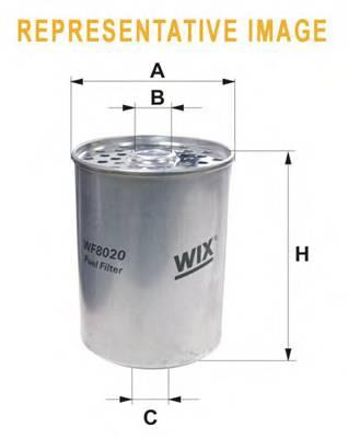 Фильтр топливный (PM 819) BOSCH арт. WF8018