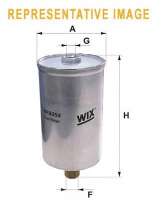 Фильтр топливный (PP 835) BOSCH арт. WF8039
