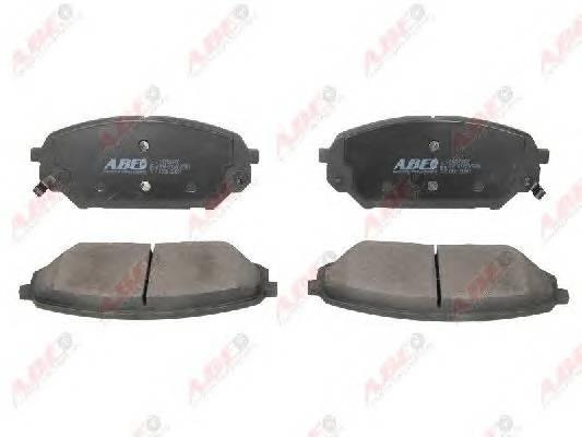 Гальмівні колодки, дискові ABE арт. C10526ABE