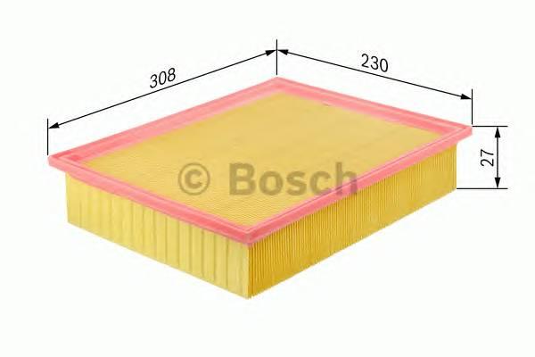 Воздушные фильтры Фільтр повітря BOSCH арт. 1457433007