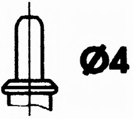 Датчик темп. охлажд. жидкости MB HELLA 6PT009107371