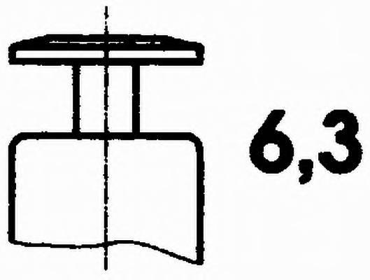 Датчик температуры охлаждающей жидкости HELLA 6PT009107161