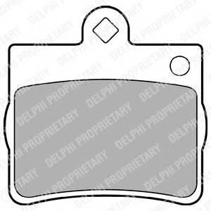 Гальмівні колодки, дискові PAGID арт. LP1402