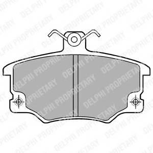 Гальмівні колодки, дискові ABE арт. LP459