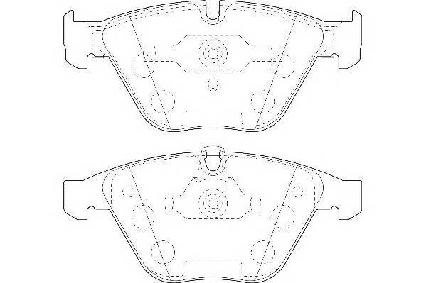 Тормозные колодки Тормозные колодки Wagner PAGID арт. WBP23312A