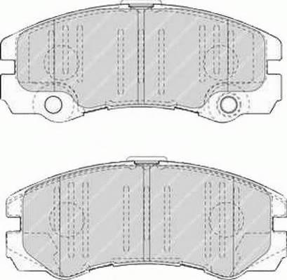 Тормозные колодки Тормозные колодки Ferodo PAGID арт. FDB1511