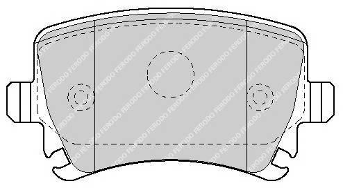 Тормозные колодки Тормозные колодки дисковые PAGID арт. FDB1636