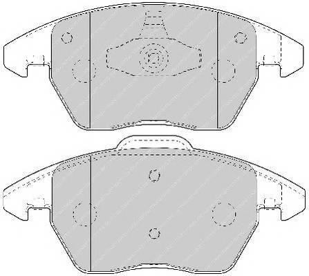 Тормозные колодки Тормозные колодки Ferodo ABE арт. FDB1728