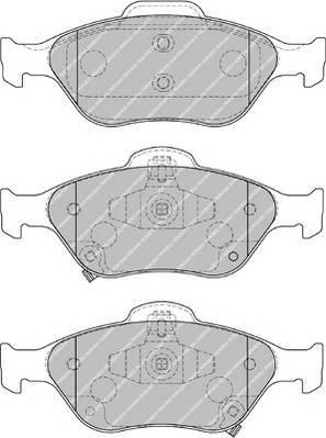 Гальмівні колодки, дискові ABE арт. FDB1890