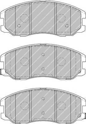 Тормозные колодки Тормозные колодки Ferodo ABE арт. FDB1934