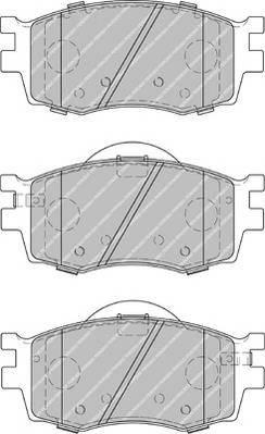 Гальмівні колодки, дискові PAGID арт. FDB1955