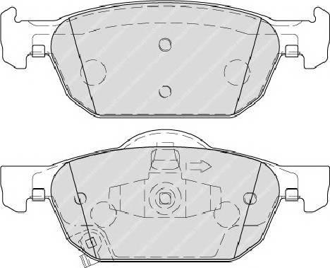 Гальмівні колодки, дискові ABE арт. FDB4269
