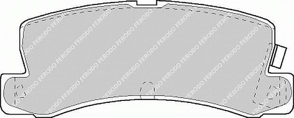 Тормозные колодки Тормозные колодки дисковые PAGID арт. FDB848