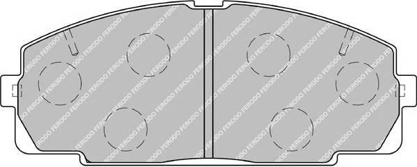 Тормозные колодки Тормозные колодки Ferodo PAGID арт. FSL1884