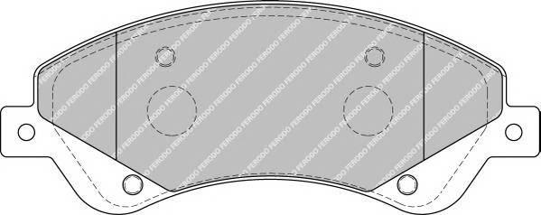 Тормозные колодки Тормозные колодки Ferodo ABE арт. FSL1929