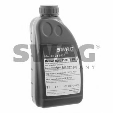 Тормозная жидкость DOT 4+, 1L SWAG 32923930