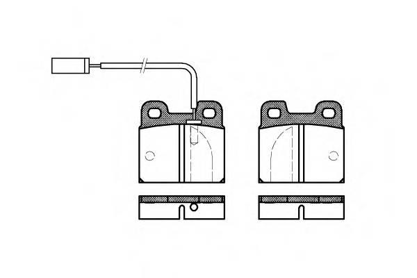 Тормозная система Гальмiвнi колодки, к-кт. PAGID арт. 200511