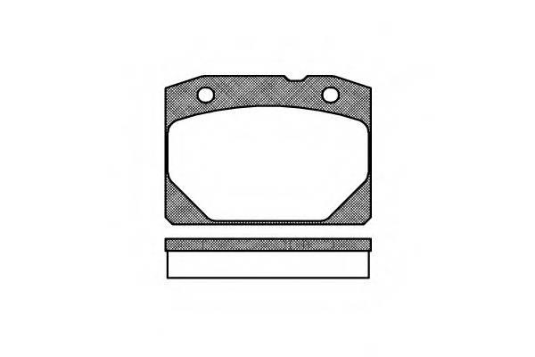 Тормозная система Гальмiвнi колодки, к-кт. PAGID арт. 208000