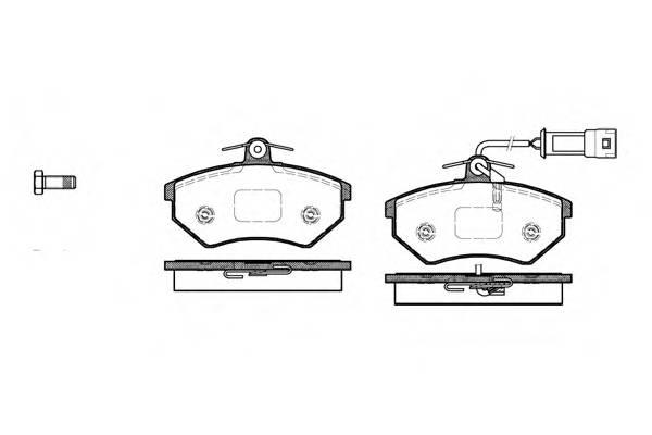 Тормозная система Гальмiвнi колодки, к-кт. PAGID арт. 213442