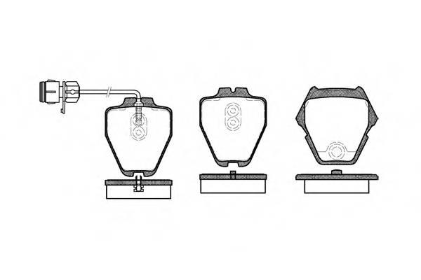 Тормозная система Гальмiвнi колодки, к-кт. PAGID арт. 275212