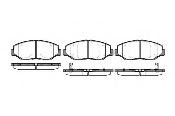 Тормозная система Гальмiвнi колодки, к-кт. PAGID арт. 289900
