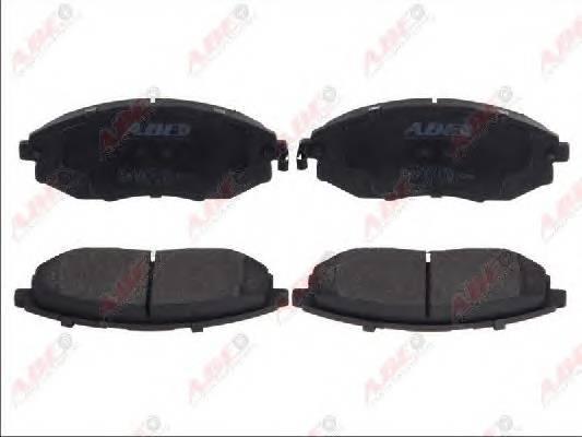 Гальмівні колодки, дискові ABE арт. C10021ABE