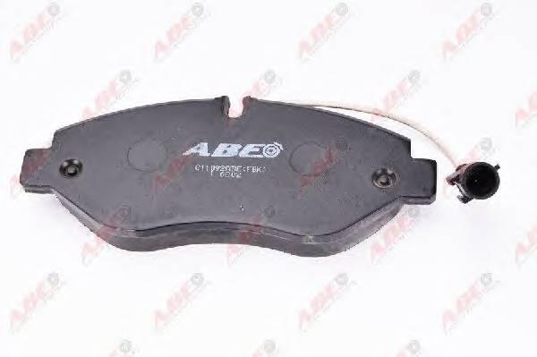 Гальмівні колодки, дискові ABE арт. C11092ABE