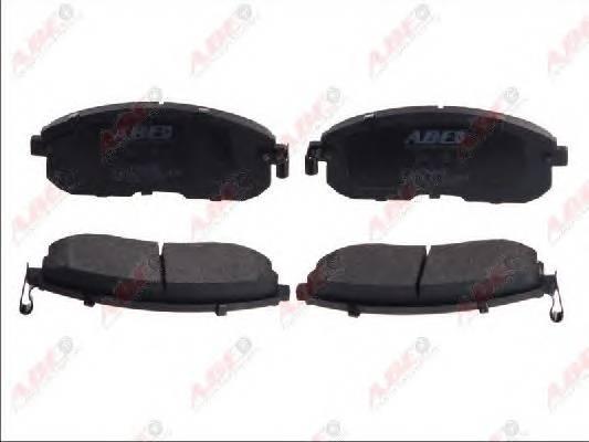 Гальмівні колодки, дискові ABE арт. C11096ABE