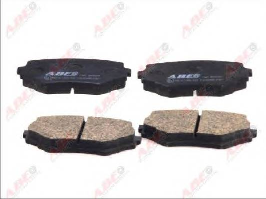 Гальмівні колодки, дискові ABE арт. C18001ABE