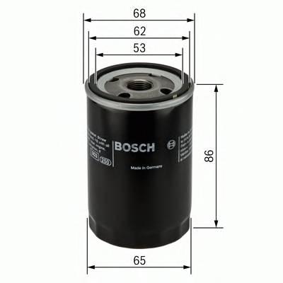 Масляные фильтры Фільтр масляний BOSCH арт. 0451103276