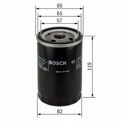 Масляные фильтры Фільтр масляний BOSCH арт. 0986452000