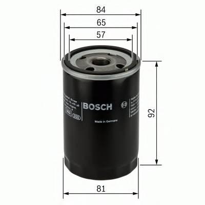 Масляные фильтры Фільтр масляний BOSCH арт. 0986452036