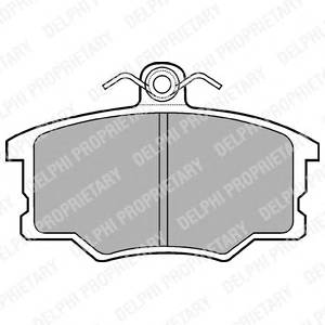 Гальмівні колодки, дискові PAGID арт. LP453