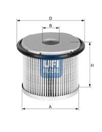 Паливний фільтр BOSCH арт. 2667600