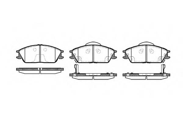 Тормозная система Гальмiвнi колодки, к-кт. PAGID арт. 222422