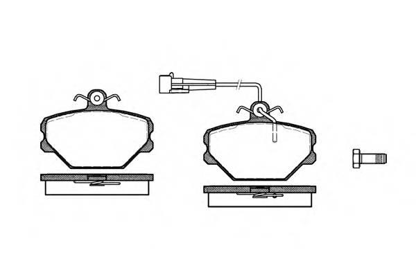 Тормозная система Гальмiвнi колодки, к-кт. PAGID арт. 226402