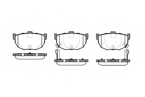 Тормозная система Гальмiвнi колодки, к-кт. PAGID арт. 229422