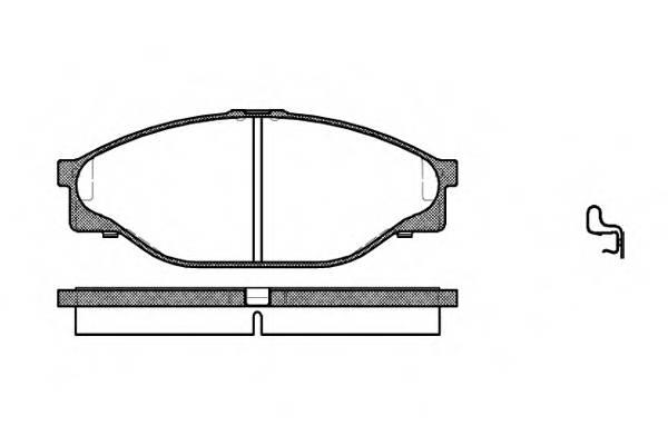 Тормозная система Гальмiвнi колодки, к-кт. PAGID арт. 241220