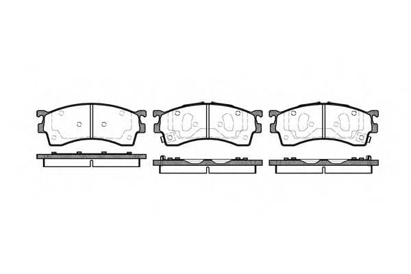 Тормозная система Гальмiвнi колодки, к-кт. PAGID арт. 241512