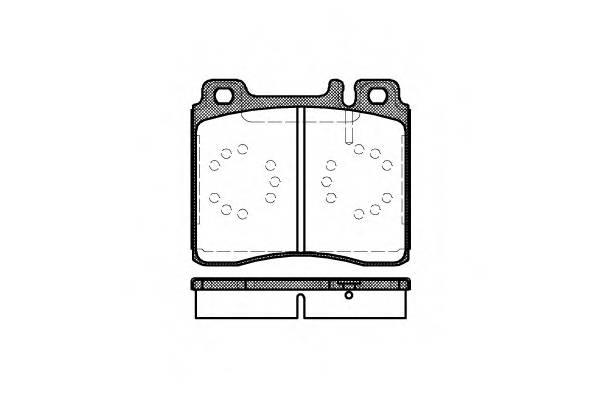 Тормозная система Гальмiвнi колодки, к-кт. PAGID арт. 242000