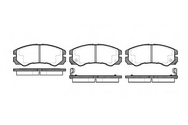 Тормозная система Гальмiвнi колодки, к-кт. PAGID арт. 242502
